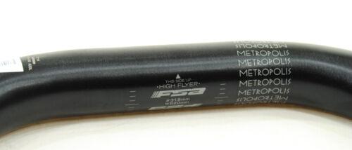 Black FSA METROPOLIS 31.8mm BICYCLE HANDLEBAR