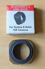 Rolleiflex Yashica Lens Hood Bay 1 TLR Hood  (1 Piecs)