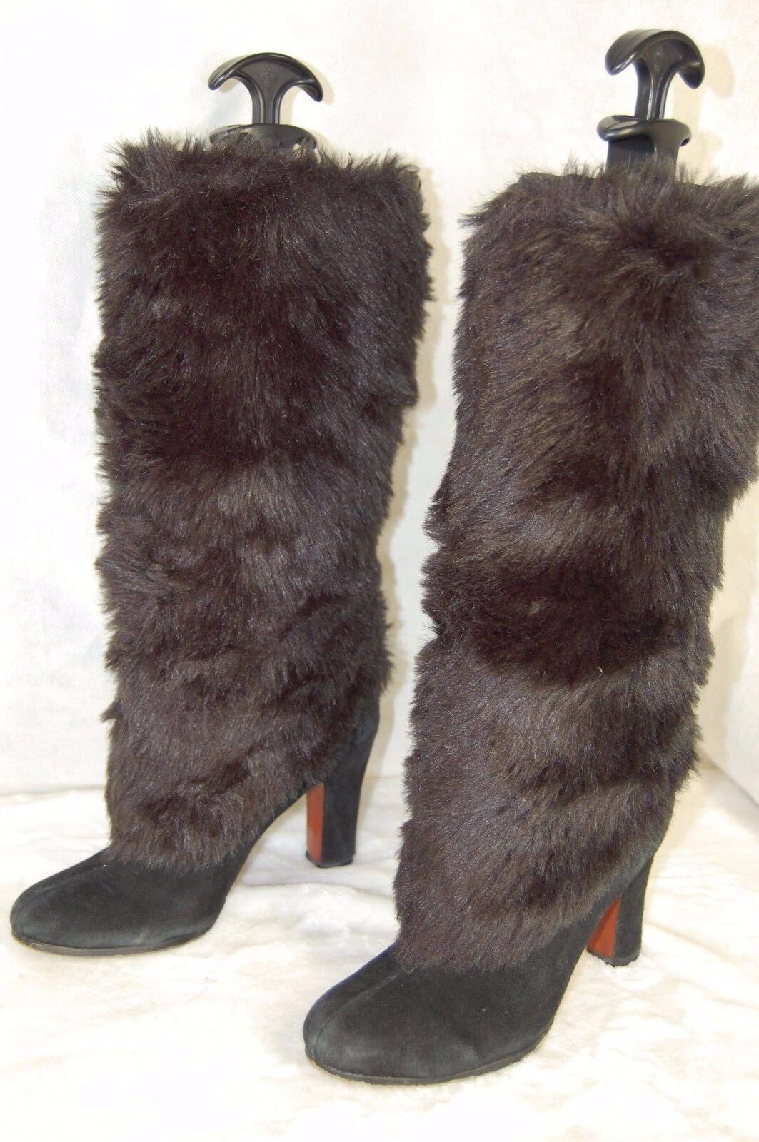 prima qualità ai consumatori SAM EDELMAN  ' Shalin' Faux Fur nero WARM WARM WARM donna   stivali  Dimensione 6  vendite online
