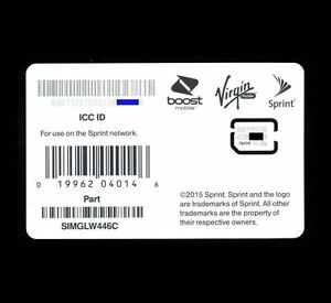 boost mobile iphone 5s sim card sprint boost mobile ringplus nano 4g lte sim for 18320