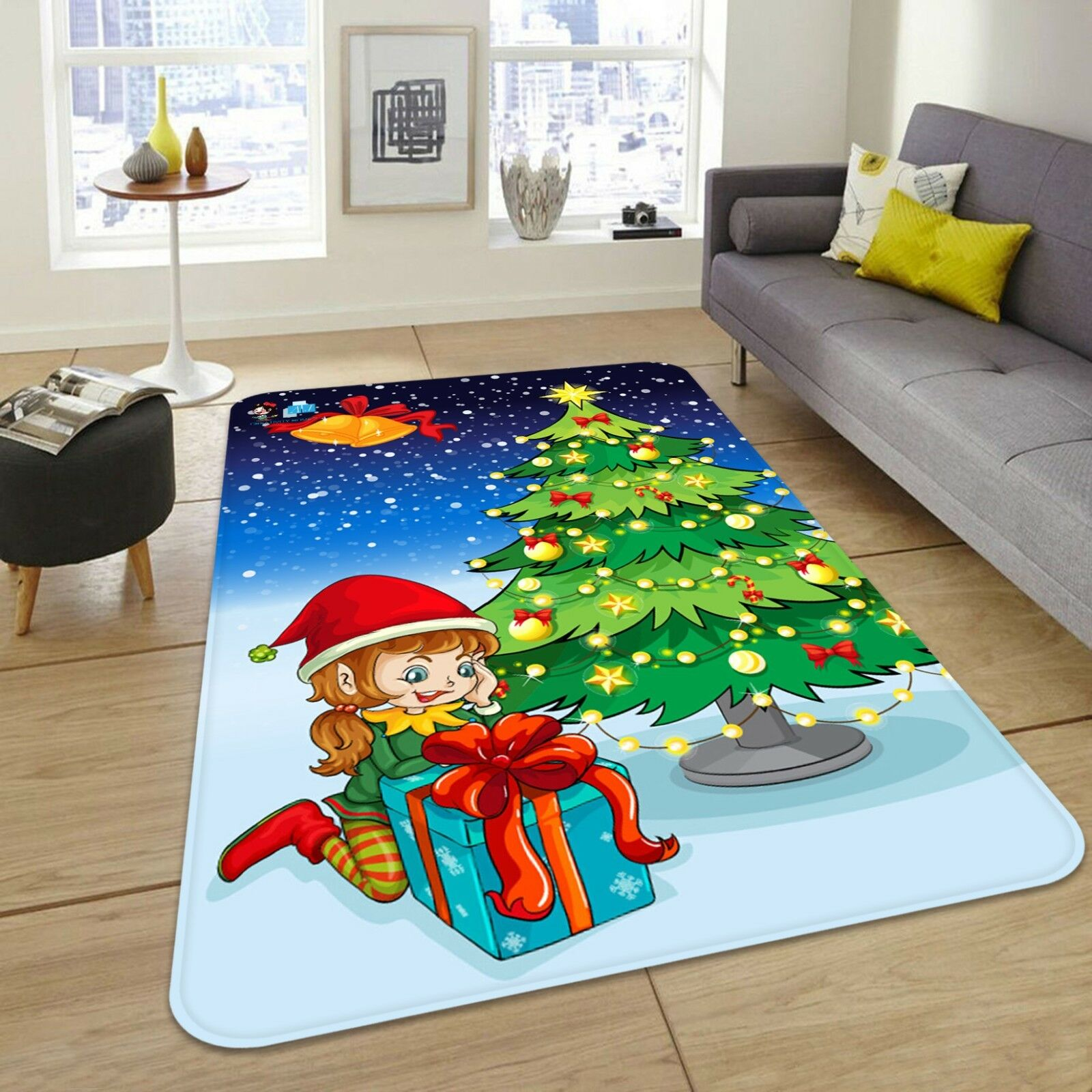 3D 3D 3D Christmas Xmas 598 Non Slip Rug Mat Room Mat Quality Elegant Photo Carpet UK b1852c