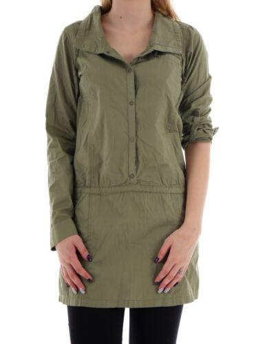 Unify Kleid Grün Blusenkleid Schnürung Kragen Bench Knopfleiste Dress 8vTU6