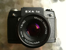 NICE! PENTACON CERTO Camera EXA Ic 1c & lens PENTACON auto 1.8/50 MC  M42 BOXED