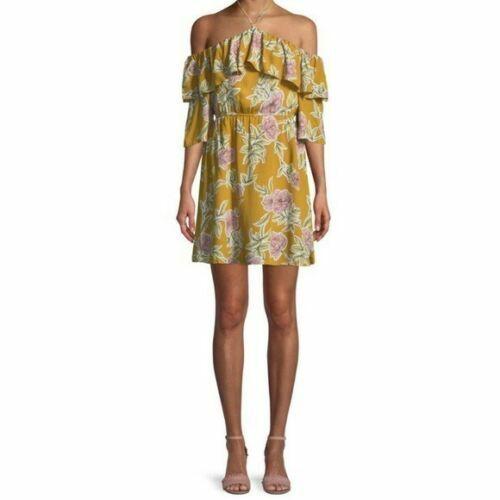 Cupcakes and Cashmere Fonda Floral Off Shoulder Dress Sz M M M NWOT 789144