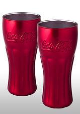 Coca Cola Glass X 2