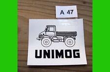 Aufkleber UNIMOG 406 403 Sticker Klassiker classic A47