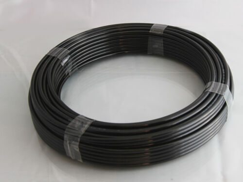 Nylon Air pipe //Tube Various Sizes 1 metre lengths to required amount in Black