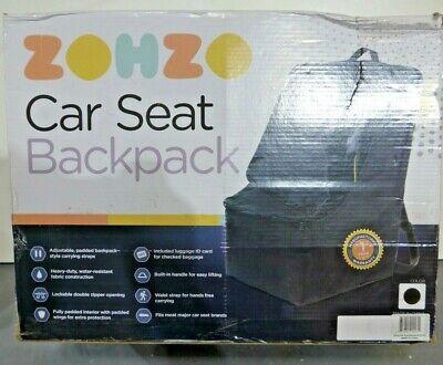 Zohzo Car Seat Travel Bag Adjustable, Zohzo Adjustable Padded Bag For Car Seat
