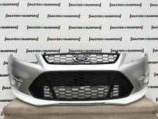 FORD MONDEO ST ZETEC S MK4 FACE LIFTING 2011-2015 FRONT BUMPER IN SILVER [F145]