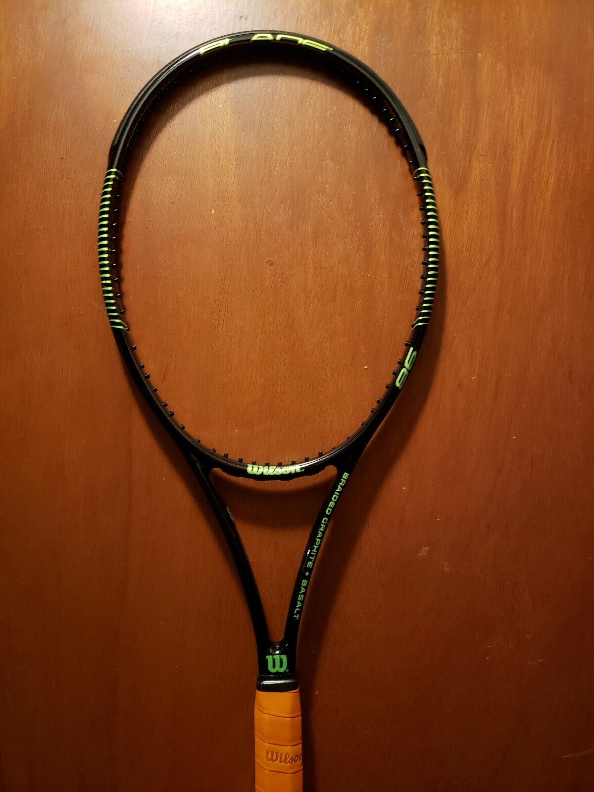 Wilson Pro Stock Blade 98 Milos Raonic 18 20 Wimbledon Final
