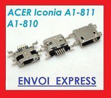 Jack Connecteur Prise Charge Alimentation USB pour Acer Iconia A1-810