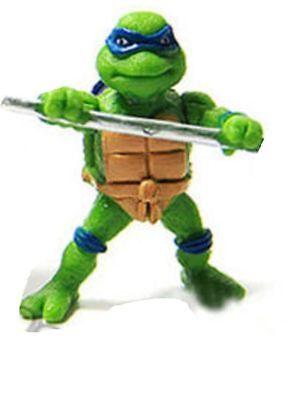 6//1Pcs Teenage Mutant Ninja Turtles TMNT Action Figures Collection Toys Set S99