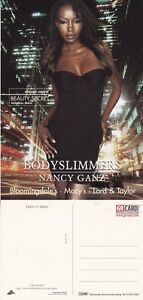 BODYSLIMMERS-BY-NANCY-GANZ-UNUSED-ADVERTISING-COLOUR-POSTCARD