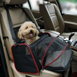 Portable-Pet-Puppy-Cat-Bag-Foldable-Dog-Car-Seat-Mat-Cage-compact-Travel-Carrier