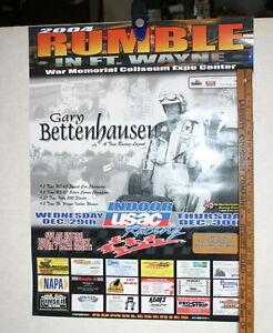 2004-RUMBLE-IN-FT-WAYNE-MIDGET-RACING-POSTER-GARY-BETTENHAUSEN-18-X-24-COLOR