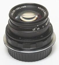 Voigtlander 75 f2.5 lens m42 EF mount