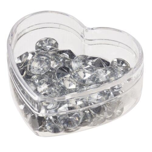 Streu-Diamant Streu Diamanten Diamanthochzeit Tischdekoration Hochzeit basteln
