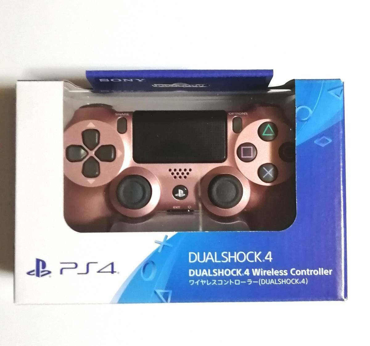 Dual Shock Rose Gold Cuh-Zct2J27 Ps4 Genuine Controller Japan Edition