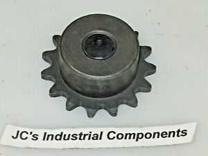 """Sprocket   35 pitch   15 tooth   3//4/"""" bore   Martin  35BS15 3//4"""