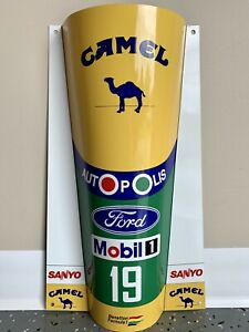 WOW-FORMULA-1-F1-Michael-Schumacher-Benetton-FORD-1991-Race-Car-Nose-Sign