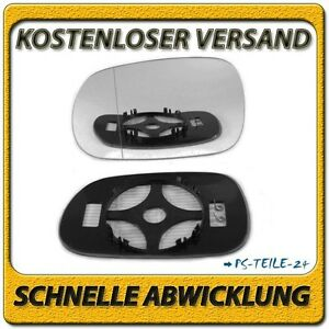 Karosserieteile spiegelglas BMW Z4 2003-2008 links asphärisch außenspiegel fahrerseite