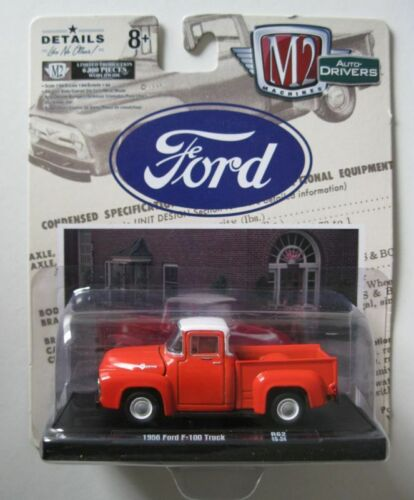 1956 Ford F-100  *** M2 Machines 1:64 NEU+OVP