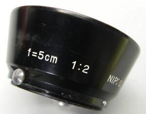 Nikon-Rangefinder-RF-Black-5cm-f2-Hood-6
