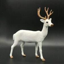 Simulation Deer Home Ornaments Plush Christmas Deer Doll Holiday Decorations