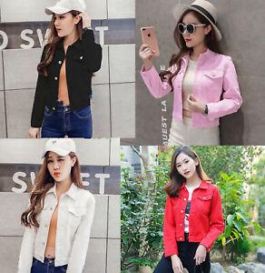 Fashion-Womens-Denim-Jacket-slim-Jeans-Coat-Casual-Long-Sleeve-Vintage-Outwear