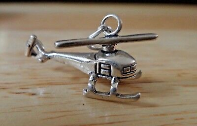 Sterling Silver 3D 19x14mm Witch Wizard Hat Magical Charm!