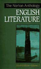 (Good)-The Norton Anthology of English Literature: v. 2 (Hardcover)-Abrams, Meye