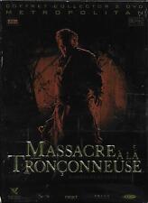 COFFRET DIGIPACK COLLECTOR 2 DVD--MASSACRE A LA TRONCONNEUSE--MARCUS NISPEL