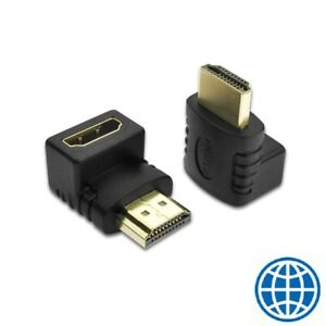 NO-QUALITY-LOSS-HDMI-Male-to-Female-90-Degree-Right-Angle-Adapter-GOOD-QUALITY