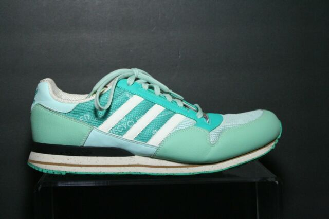 206c6eace216f Adidas ZX 500 Recycled VTG 2008 Men 14 Multi Green White Running Retro  Athletic