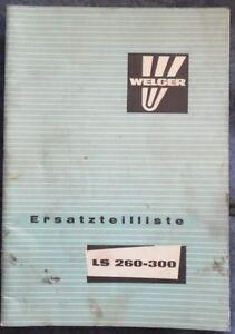 Welger Pressen Kipper Stalldungstreuer Programm 1996