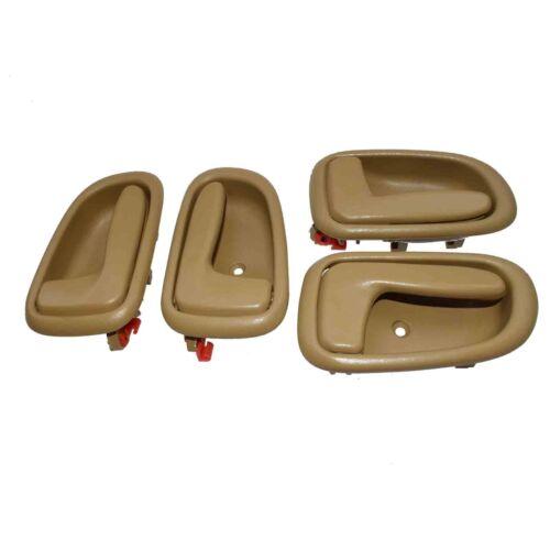 Beige Inside Door Handle Front Rear Right Left Fit toyota Corolla 93 94 95 96 97