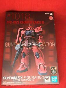 BANDAI-GUNDAM-FIX-configurazione-Metallo-Composito-MS-06S-CHAR-039-S-ZAKU-II-Mobile-Suit