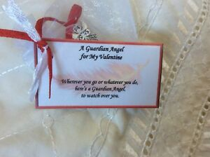 Valentines Gift For Wife Girlfriend Woman I Love Guardian Angel Gift