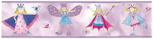 Piece-Partenaires-Fairy-Princesses-Bordure-Papier-Peint-Filles-Chambre-Neuf