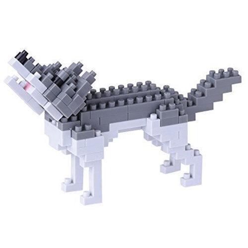 Grauer Wolf Nanoblock