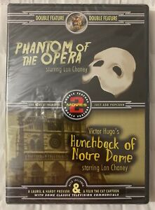 Phantom-of-the-Opera-amp-Hunchback-of-Notre-Dame-DVD-Lon-Chaney-Classic-New-Sealed