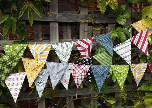 photo prop Handmade bunting sports football colours Varsity by Sweetwater