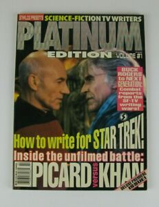 PICARD-vs-KHAN-STARLOG-PRESENTS-PLATINUM-1-SCIENCE-FICTION-TV-WRITERS-1993