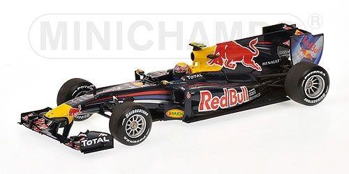 rosso BULL rb6 Mark Webber 2010 1 43 MODEL MINICHAMPS