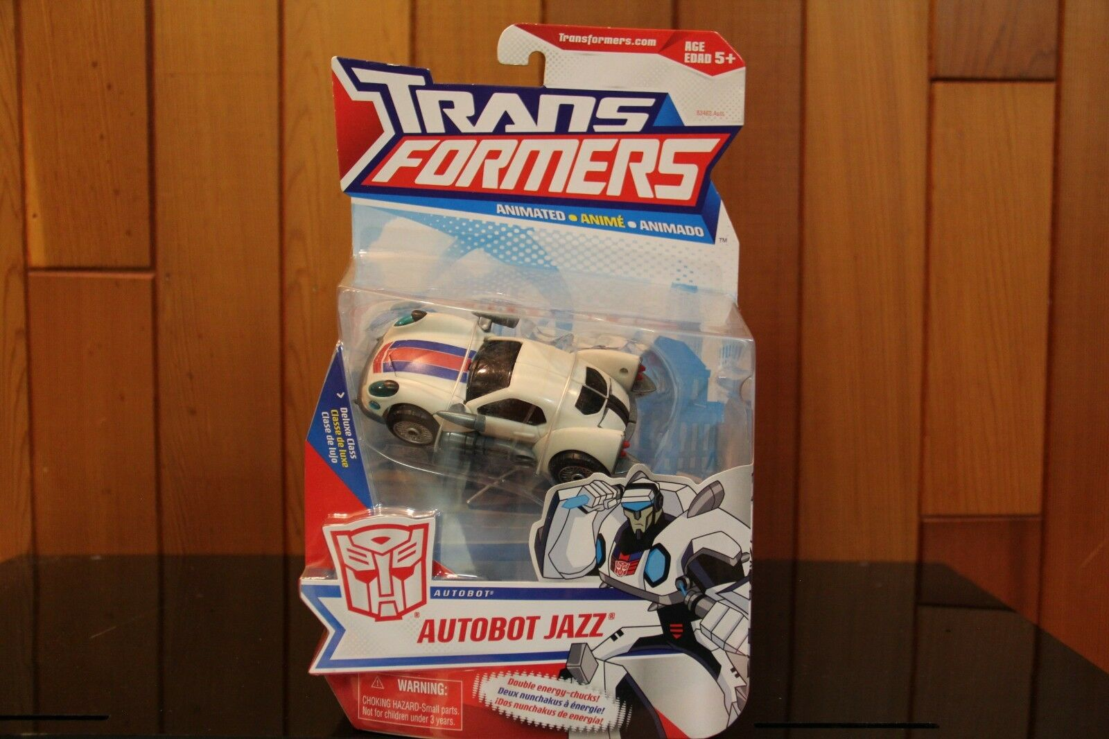 Transformers ANIMATED Deluxe Class Jazz