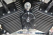 LeNale Cooling Fan - BLACK - fits 75-17 Sportster Harley Davidson - New Design!