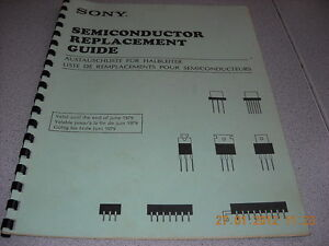 SONY-Semiconductor-Replacement-Guide