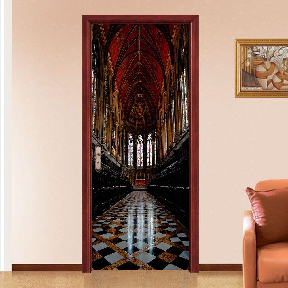 3D Kirche 749 Tür Wandmalerei Wandaufkleber Aufkleber AJ WALLPAPER DE Kyra  | New Style  | Räumungsverkauf  | Ruf zuerst