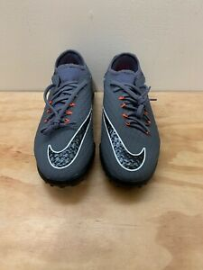 19732af3c NIKE HYPERVENOMX PHANTOM X 3 PRO TURF SHOES GREY BLACK AH7283-081 ...