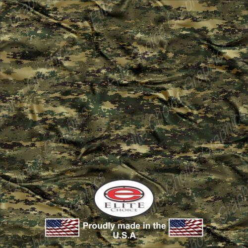 "Digital Marine Cloth Wrap Vinyl Truck Camo Car SUV Real Camouflage 52/""x6ft"